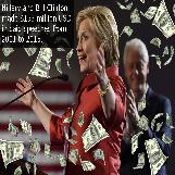 $153 Million in Hillary and Bill Clinton Paid Speeches