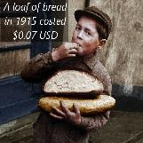 A Loaf of Bread 100 Years Ago