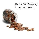 Cost of a penny