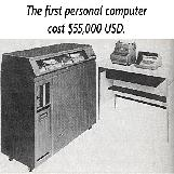 The Cost of the First Personal Computer
