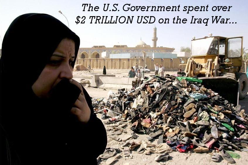 The Iraq War Cost USA $2 Trillion