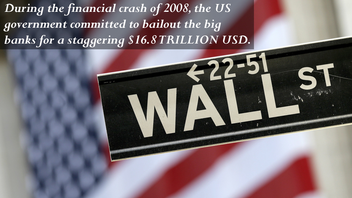 The US Bank Bailout Is a Total of $16.8 Trillion